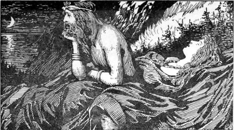 Valhalla, el paraíso de los ilustres guerreros de la mitología nórdica después de la muerte