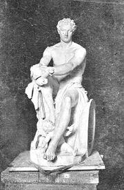 Estatua de Ares Vaticano