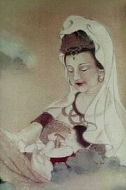 Guanyin and child