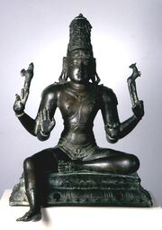 Indian - Festival Image of Shiva - Walters 543084