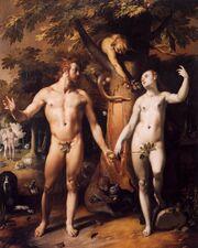 Cornelis Cornelisz. van Haarlem - The Fall of Man - WGA05250