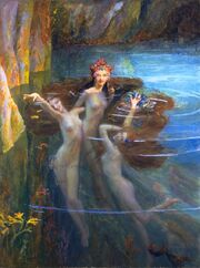 Gaston Bussiere — The Nereides