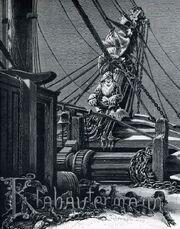 Klabautermann on ship