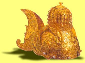 Afbeeldingsresultaat voor mahkota kutai