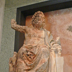 Zeus, Getty Willa