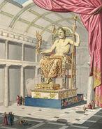 Zeus w Olimpii