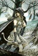 Artemis mroczna łowczyni