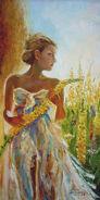 Dziewanną - pani złotego kwiatu