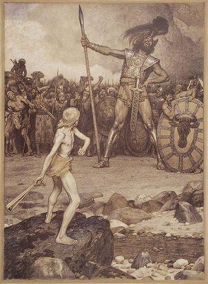 439px-Osmar Schindler David und Goliath
