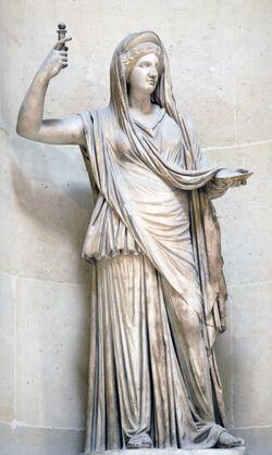 Hera estatua