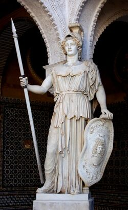 Atenea estatua