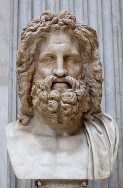 Zeus estatua