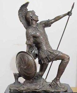 Ares estatua