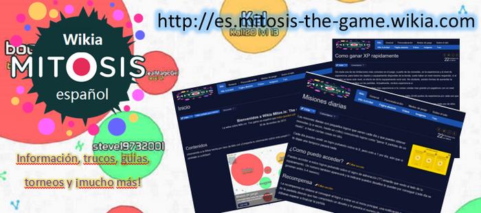 Portada wikia español mitosis