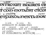 Schrift der Angelsachsen