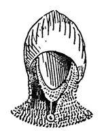 Kleine Kesselhaube 13, Kriegswaffen@demmin p504, Fig.24.Jh