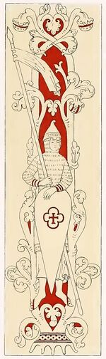 Normannenschild 1160-1220, trachtenkunstwer02hefn Taf.093F