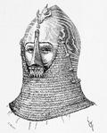Beckenhaube 14.Jh. dictionnairerai05violuoft, p.187b