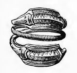 Schlangenring, spätrömisch, RdgA Bd2, Taf.015, Abb.03