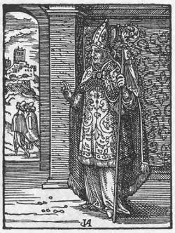 Bischof Ständebuch Jost Amman