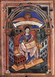 Soissons-Evangeliar, Evangelist Johannes