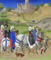 Stundenbuch Herzog von Berry 1416 August