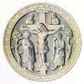 Christusrelief 1180-1250, trachtenkunstwer02hefn Taf.112b.jpg