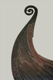 Osebergschiff Le bateau viking d'Oseberg