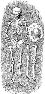 Doppelgrab mit Skelett und Brand, MgKL Wm08194b, Abb.01