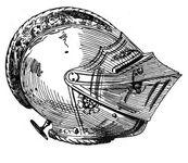 Burgunderhelm 1530, handbuchderwaff00collgoog, Fig032