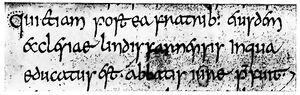 Angelsächsische Schrift RdGA Band 1 Tafel 04-04