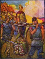 Beowulf head of grendel