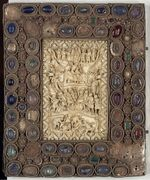 Psalter Karls des Kahlen, Bucheinband, BnF Paris Sign. lat. 1152