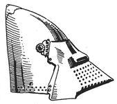 Hundsgugel, Schweiz 14.Jh. handbuchderwaff00collgoog, Fig.020