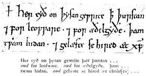 Angelsächsische Schrift RdGA Band 1 Tafel 06-10