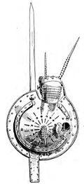 Laternenschild, Italien 16.Jh. handbuchderwaff00collgoog, Fig.201a