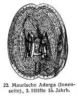 Adarga 15. Jh. MgKL Rüstungen und Waffen III Fig.21