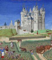 Stundenbuch Herzog von Berry 1416 September
