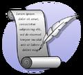 Icon writing P cc-by-sa-3.0.png
