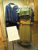 Eura Frauentracht Rekonstruction, 11. Jh., National Museum Finland - DSC04196