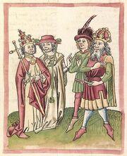 Cod. Pal. germ. 137, fol. 004v - Chronicon pontificum