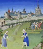 Stundenbuch Herzog von Berry 1416 Juni