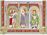 Kleidung des Hochmittelalters