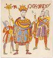 Leges Langobardorum, König Rachis 9.Jh., trachtenkunstwer01hefn Taf.016a.jpg