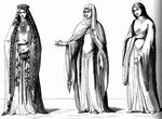 French Kirtle Gowns 12th century