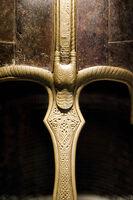 Treasures from Medieval York - The York Helmet (crest detail)