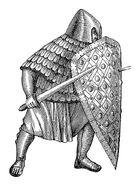 Karolingischer Fußkämpfer MgKL Rüstungen und Waffen I Fig.01