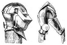Armet, 15.Jh. handbuchderwaff00collgoog, Fig.029