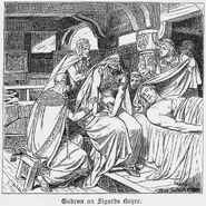 Sigurds Tod und Gudrun, Walhallgermanisc1888dahn p335