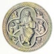 Christusrelief 1180-1250, trachtenkunstwer02hefn Taf.112a